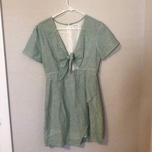 Linen style dress